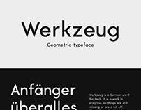 Werkzeug typeface