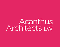 Acanthus Architects LW – Identity refresh