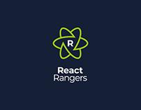 React Rangers - Logo i identyfikacja wizualna.