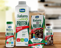 Imlek Balans+ Protein Packaging Design