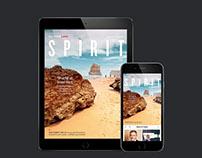 Qantas Spirit Magazine app