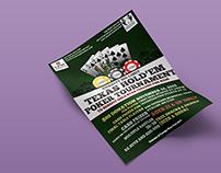 Veterans of Foreign Wars Poker Night Flyer
