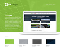GI Energy Rebrand + Website Design
