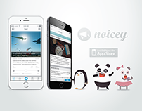 Noicey Brand, App & Character Design