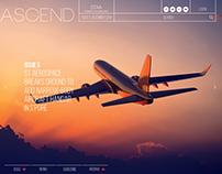 ASCEND Website Design