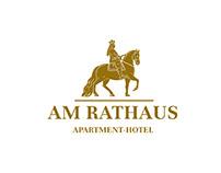 """""""Am Rathaus"""" Branding for guest house. Düsseldorf"""