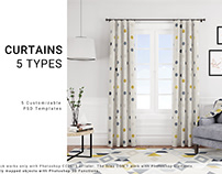 Curtains - 5 Types