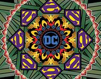 DC Comics Logos Mandala