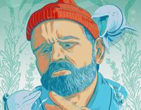 """The Life Aquatic with Steve Zissou"" Fan Art Poster"