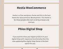 Best free Ecommerce wordpress themes 2021