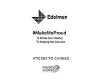Walking On History Edelman #TicketToCannes
