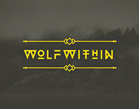 Wolfwithin — Shirt Design & Landing Page