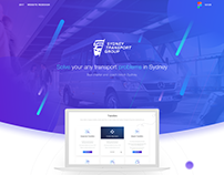 Website Sydney Transport Group