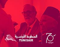 Tunisair 70th Anniversary