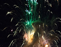 Fireworks at Terrigal NYE 2018