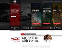 Toyota - Culinary Road Trip Hub