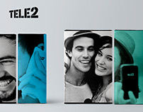 Packaging for smartphones Tele2