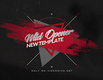 Wild Opener - After Effects Template CS5+