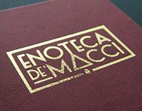 Enoteca de'Macci - Branding for Florence's bar