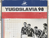 The best of Yugoslavia - World Cup 1998 and Euro 2000