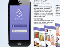 Mobile App - Switch