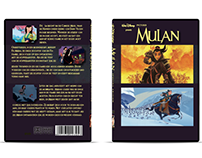Mulan DvD packing