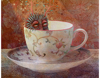 tiny monsters in teacups