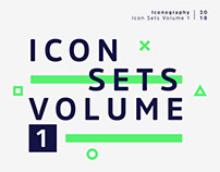 Icon Sets Vol. 1