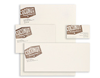 Coconut Properties Logo and Stationery