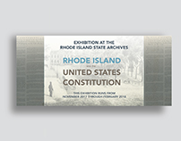 State Archives Exhibition : RI and the US Constitution