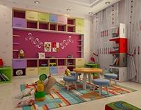 Kids Playing Room