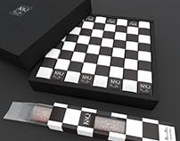 K&Q - Chess Stick Cake Packaging