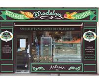 Vitrine création boulangerie patisserie chartreuse