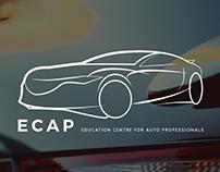 Logo Redesign - ECAP Beograd - Concept 1
