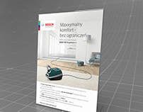 "Bosch - POS ""ErgoMaxx`x"" promo poster design"