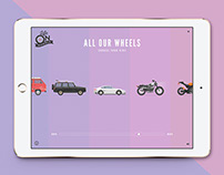 Life on Wheels - An illustrated and animated serie