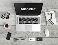 Macbook Scene Mockup