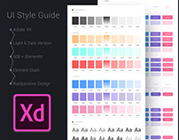 Adobe XD Freebie-UI Style Guide