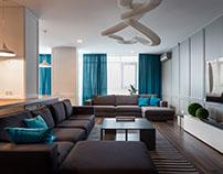 Skyline apartment by SVOYA studio