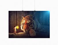 Photomontage - Tigre