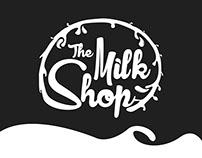 The Milk Shop Logo Design
