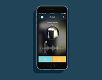 Chime, Dark: App Design
