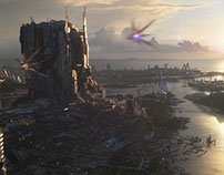 Guardians Of The Galaxy - Xandar city