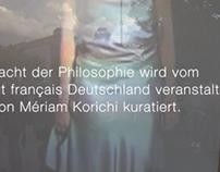 Die Nacht der Philosophie