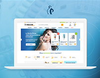 Pingvin Pharmacy Webshop Redesign Concept