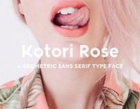 Kotori Rose - Free font!