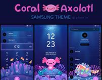 Coral Axolotl themes