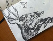 Sketchbook - drawings