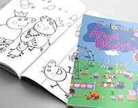 Revista de Colorir - Peppa Pig