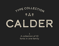 Calder - Type Collection